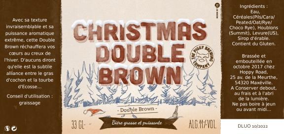 CHRISTMAS DOUBLE BROWN